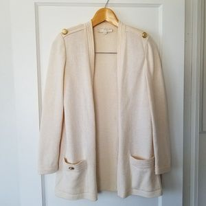 St John Basics Long Open Cardigan